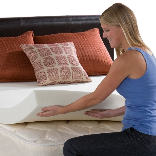 clean memory foam mattress topper