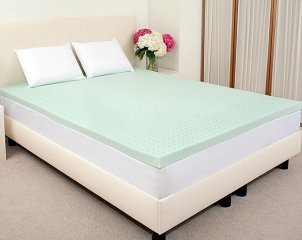 memory foam mattress topper - thickness