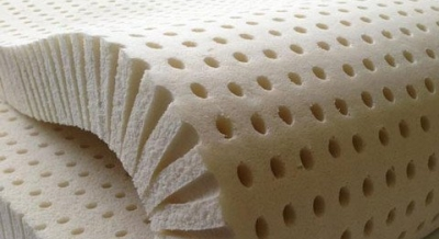 pure latex mattress topper width=