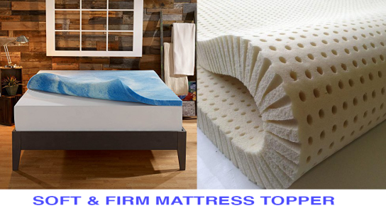 firm and soft mattress topper - Extra Firm Mattress Topper