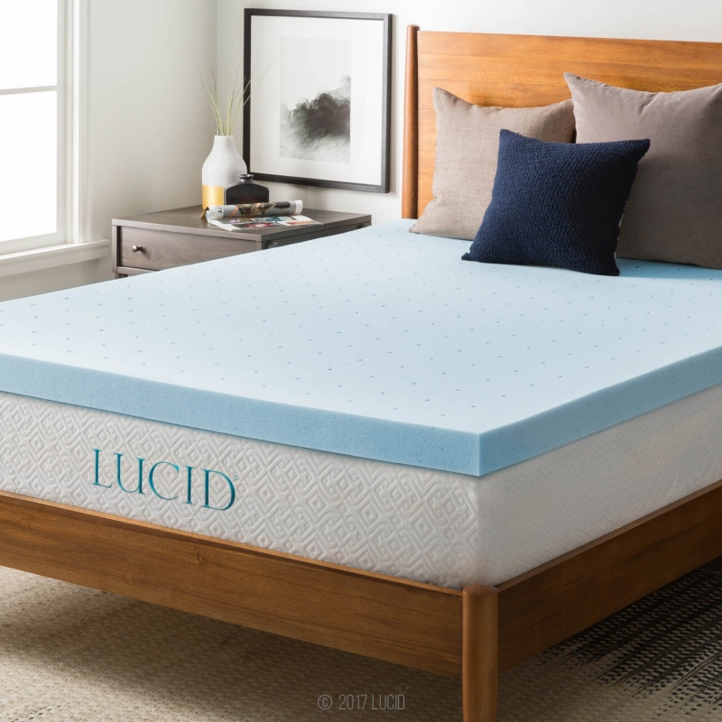top 10 best memory foam mattress topper reviews 2018 guide. Black Bedroom Furniture Sets. Home Design Ideas